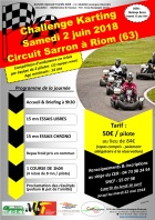 challenge karting 2018 puy de dome
